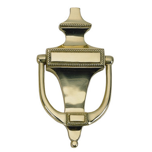 Brass Accents A06-K0400 Rope Knocker 6-1/2