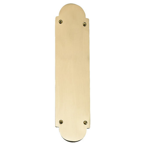 Brass Accents A07-P0240 Traditional Push Plate 3