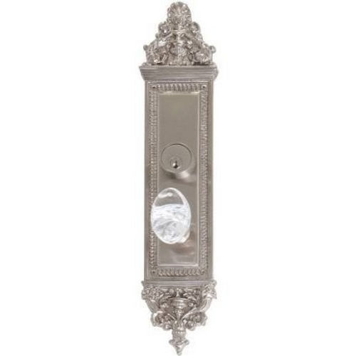 Brass Accents D04-K523J-GTN Renaissance Collection Door Plate Set, Highlighted Brass