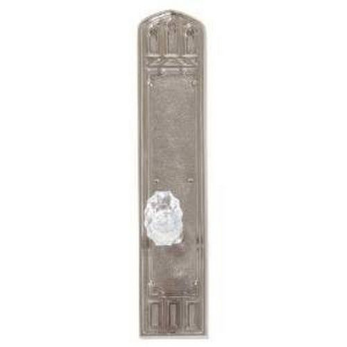 Brass Accents D04-K584A-SAV Renaissance Collection Door Plate Set, Aged Brass