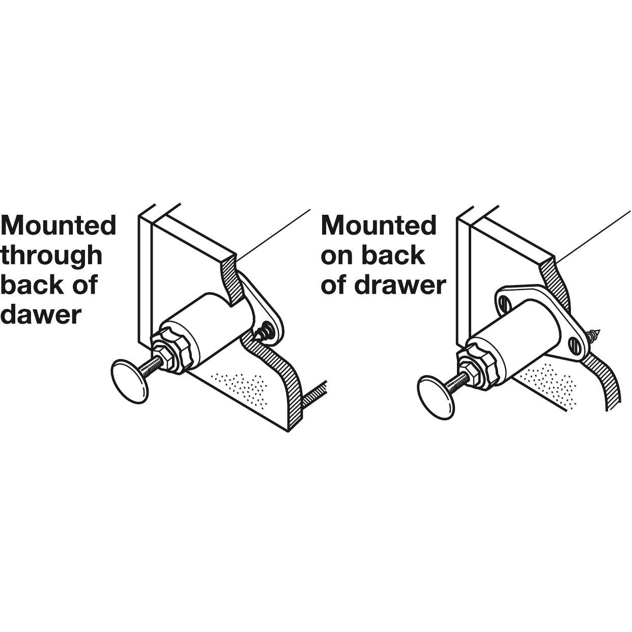Hafele 245.52.403 Flexa-Touch Drawer Latch beige as per pics plastic