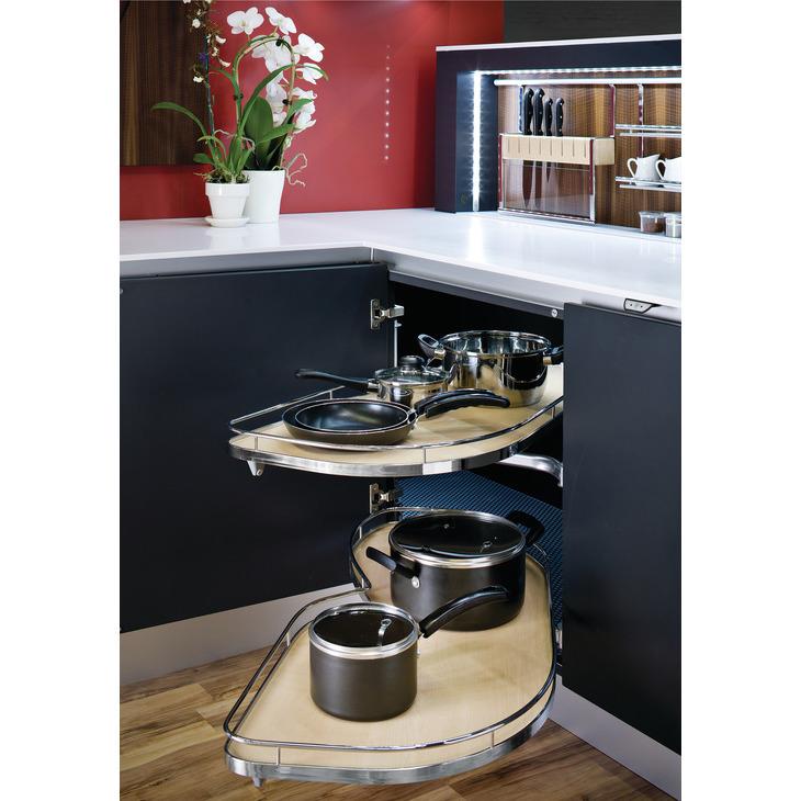 Pleasant Hafele 541 32 141 Lemans Ii Set For Blind Corner Cabinets Pdpeps Interior Chair Design Pdpepsorg
