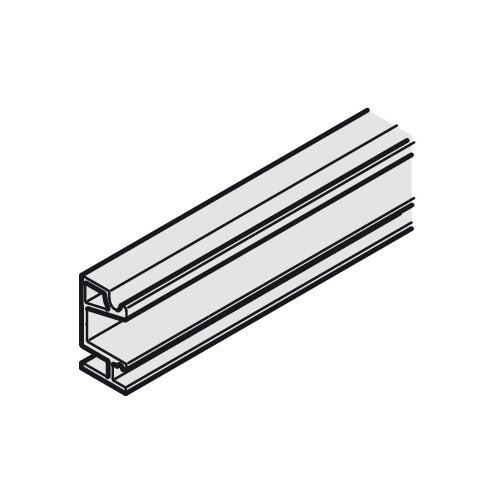Hafele 941.25.831 Mounting rail, Pre-drilled, width 19 mm