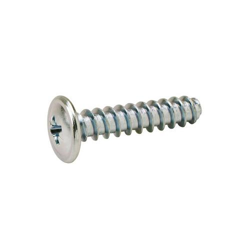 Hafele 013.10.283 Round Washer Head Screw, #2 Pozi Drive