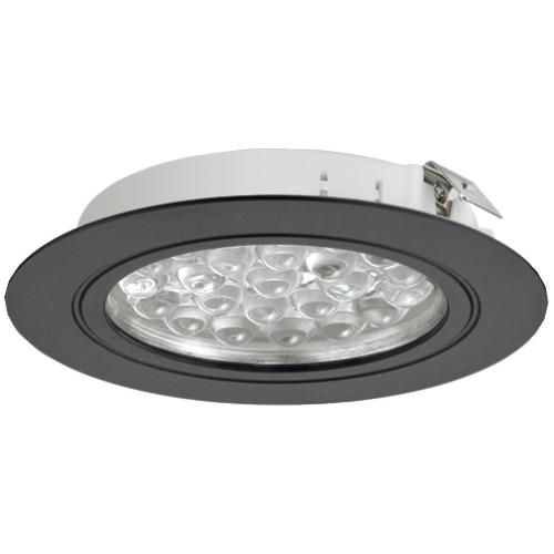 Hafele 833.75.007 Round Recess/Surface Mounted Downlight, Loox LED 3001, 24 V