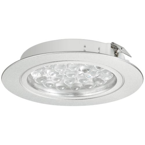 Hafele 833.75.014 Round Recess/Surface Mounted Downlight, Loox LED 3001, 24 V