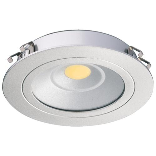 Hafele 833.75.040 Recess/Surface Mounted Down Light, Loox LED 3010, 24 V