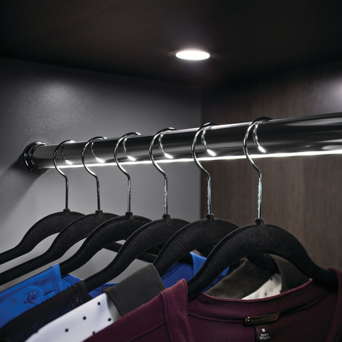 Hafele 833.71.916 Elite Lighted Wardrobe Tube Kit, LED 2037 1.8W, length 18
