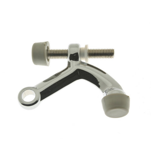 IDH 13029-026 Solid Brass Hinge Pin Stop, Polished Chrome