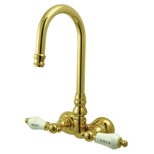 Kingston Brass CC73T2 Vintage Wall Mount Clawfoot Tub Filler