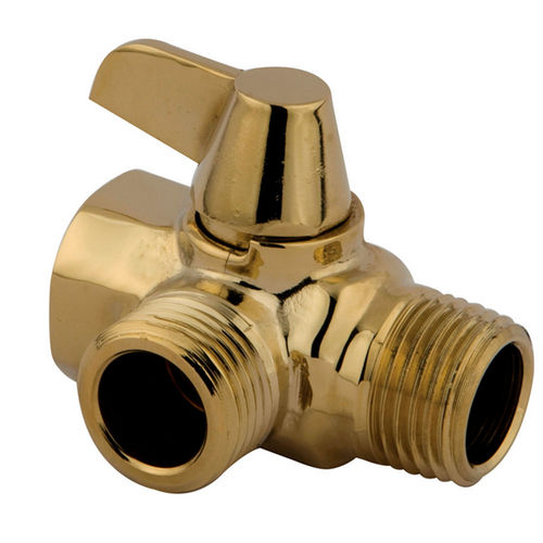 Kingston Brass K160A2 Plumbing Parts Solid Brass Plumbing Parts Flow Diverter for Shower Arm Mount