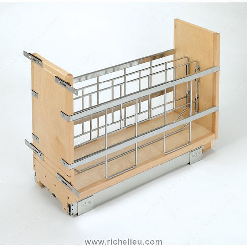 Richelieu 447BCBBSC5C Pull-Out Base Cabinet Organizer
