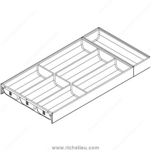 Richelieu WEBKIT1211855 Cutlery Insert for Legrabox Drawer