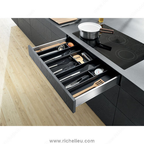Richelieu WEBKIT1212390 Modular Ambia-Line Kits for Utensils for Standard Drawer