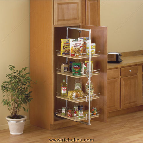 Richelieu P2500CMFN Roll-out pantry Center mount
