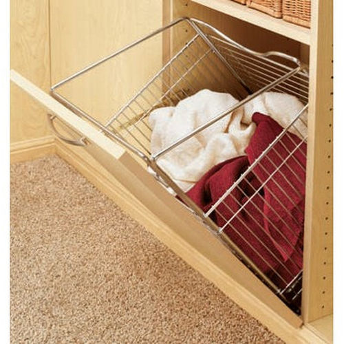 Richelieu CTOHB161319CR52 Closet Tilt-Out Hamper Basket