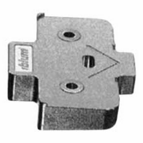 Richelieu 171A5070180 Angled Spacer for Mounting Plate - Minus 5 Degrees