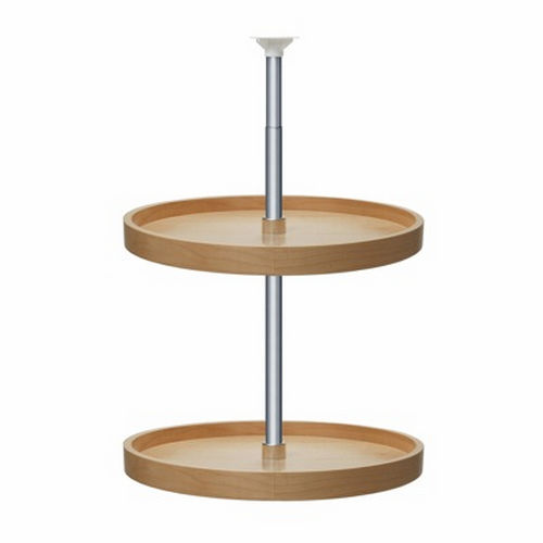 Richelieu 74182151 Full Circle Wooden Two-Tray Set