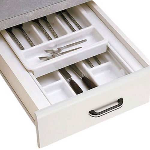 Richelieu 147530 Double-Tiered Cutlery Tray