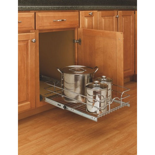 Richelieu 5WB11222CR Single Pull-Out Basket - 12