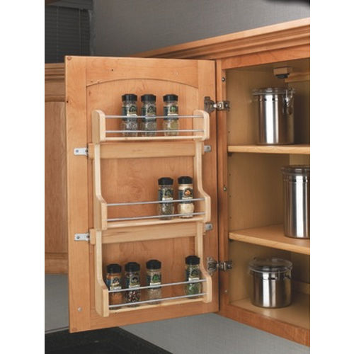 Richelieu 4SR15 Door Mounting Spice Rack in Wood