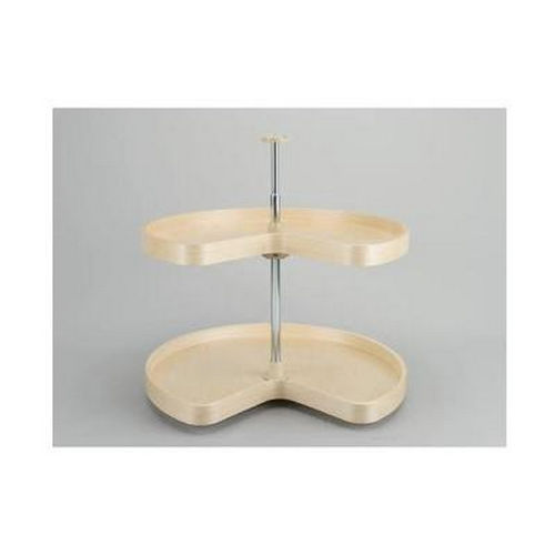 Richelieu LD4BW472241 Kidney Wooden Tray Set