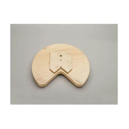 Richelieu LD4BW40128SBS1 Swivel-Mounted Kidney Wooden Tray Set