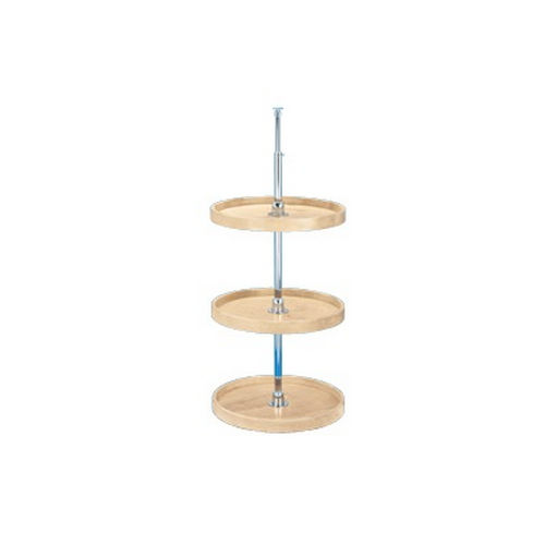 Richelieu LD4BW06318361 Full Circle Wooden Three-Tray Set