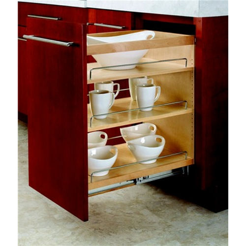 Richelieu 448BC14C Sliding Organizer for Base Cabinet 14