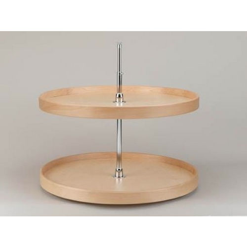 Richelieu LD4NW072321 Full Circle Wooden Two-Tray Set