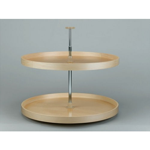 Richelieu LD4BW062321 Full Circle Wooden Two-Tray Set
