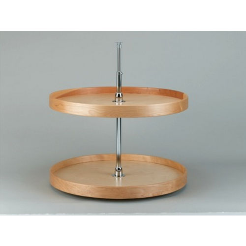 Richelieu LD4NW072281 Full Circle Wooden Two-Tray Set