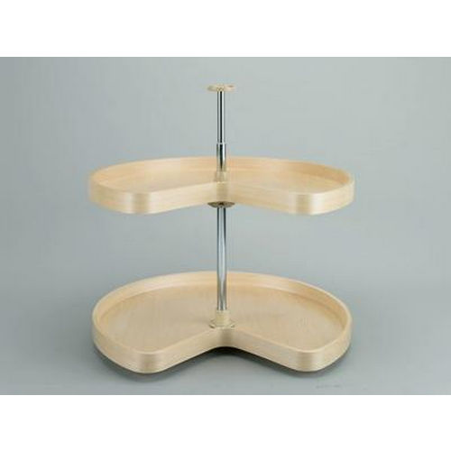 Richelieu LD4NW472321 Kidney Wooden Tray Set