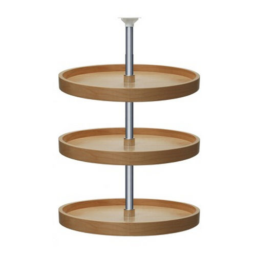 Richelieu 74183151 Full Circle Wooden Three-Tray Set