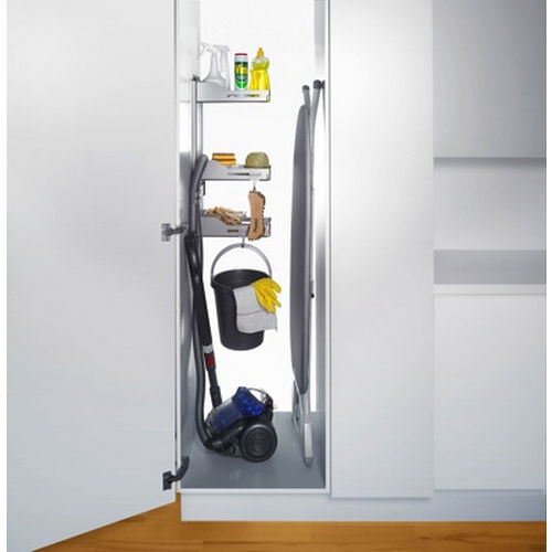 Richelieu 6356110 Storage System for Broom Closet