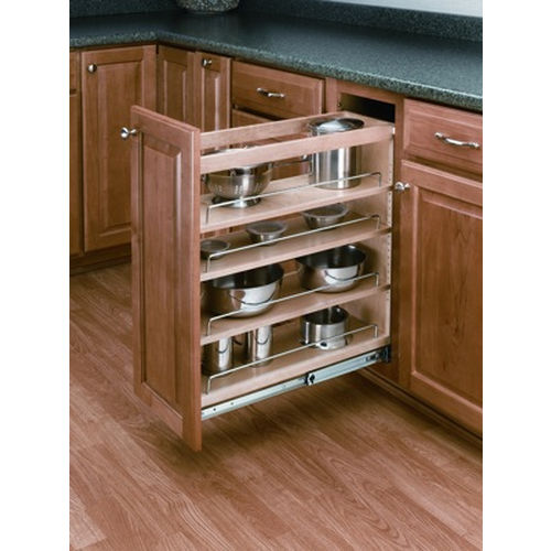 Richelieu 448BCSC6C Blum Sliding Storage System with Soft-Close