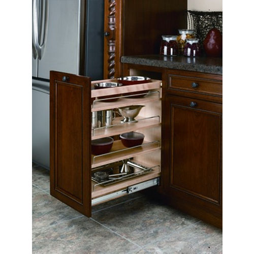 Richelieu 448BCSC9C Blum Sliding Storage System with Soft-Close