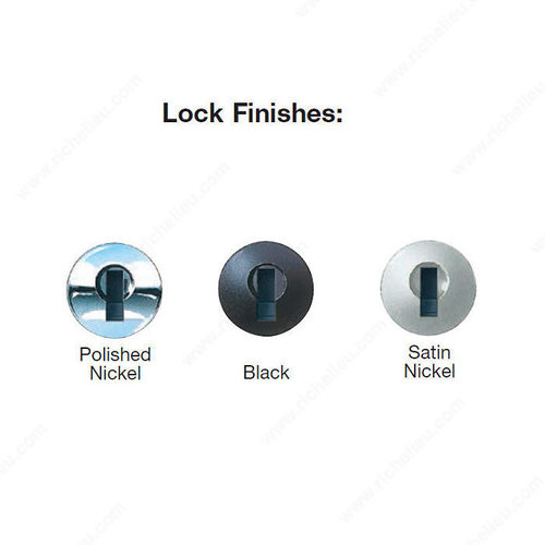 Richelieu Lock Plugs TLLP100K109