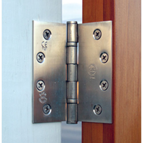 Snug Cottage 6100-B454 Black 316 Stainless Butt Hinges, Pair