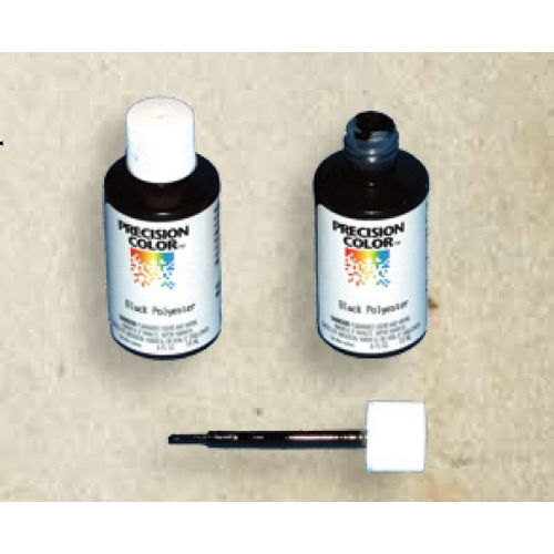 Snug Cottage 1200-10B Black Touch Up Paint, 0.6 oz with Brush