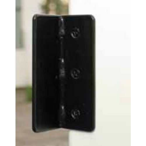 Snug Cottage 1400-PSS Black Stainless Gate Stop for PVC