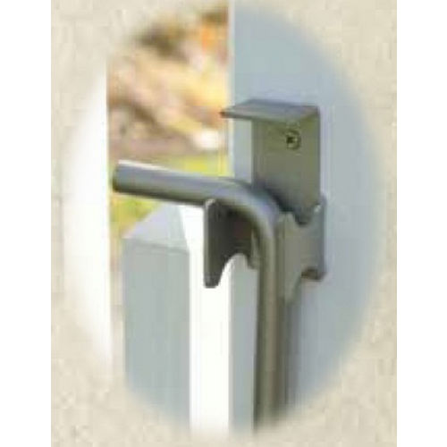 Snug Cottage 4096-24SS Black Stainless Steel Cane Bolt 24
