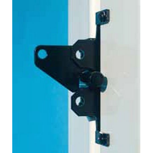 Snug Cottage 8300-BPSS Extended Black Auto Locking Latch for PVC