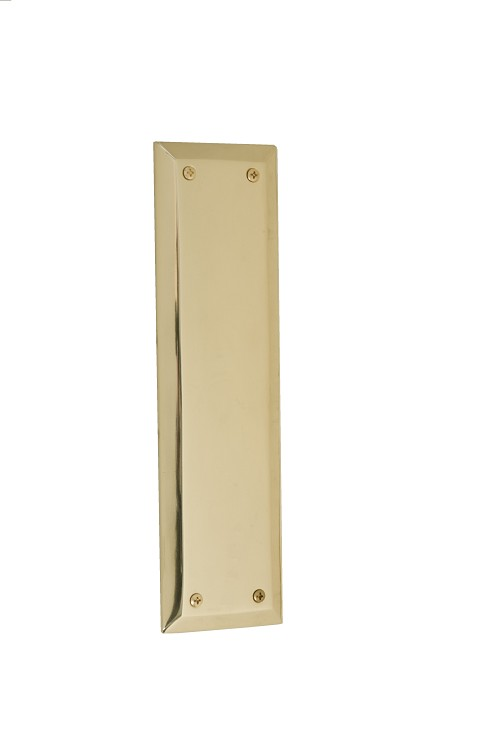 "Brass Accents A07-P5400 Quaker Push Plate 2-3/4"" x 10"", Oil-Rubbed Bronze"
