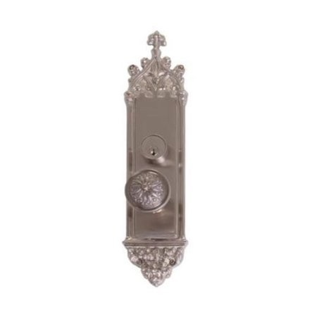 Brass Accents D04-K560D-HLS Renaissance Collection Door Plate Set, Highlighted Brass