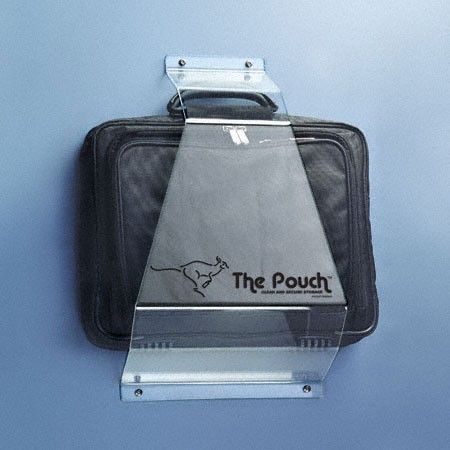 "Jacknob 110300 The Pouch Acrylic 3/16"" with Fasteners"
