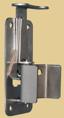 Snug Cottage 4100-2SS Satin Stainless Quick Katch Latch 2""